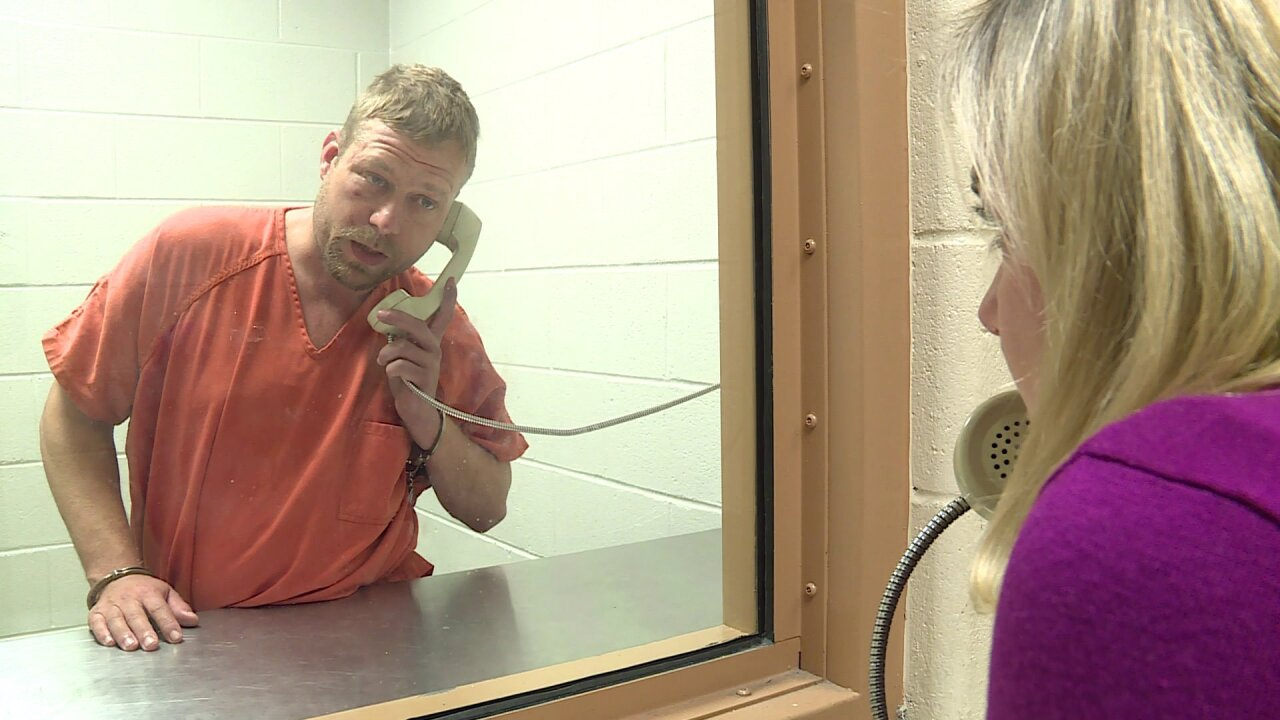 Man charged with murdering Chesterfield father speaks fromjail