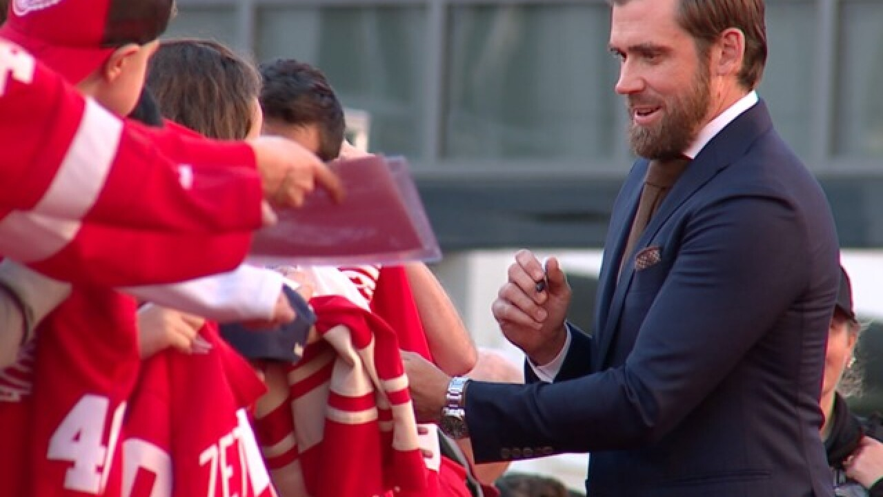 VIDEO: Henrik Zetterberg happy with decision to retire as he returns to watch Red Wings
