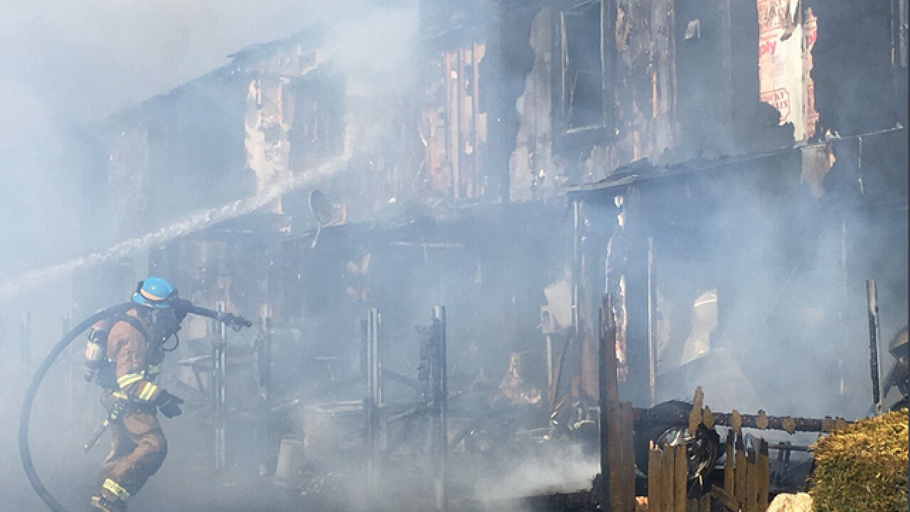 Fire marshal: No charges expected for cigarette-induced fire