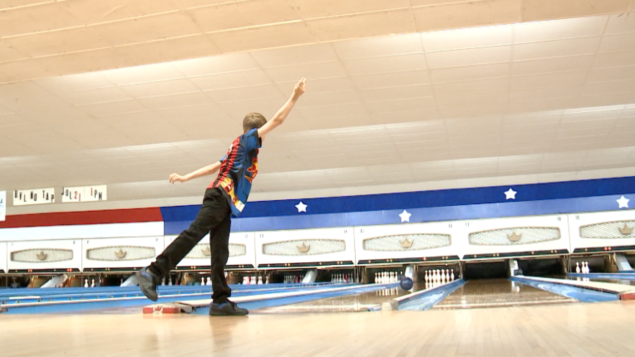 Success Strikes: 11-year-old bowling prodigy Danny Rhea competes at nationals