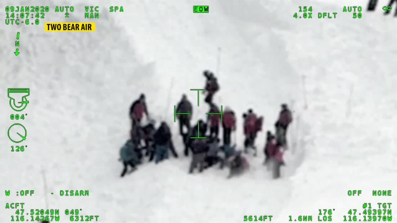Two Bear Air Silver Mountain Avalanche Rescue