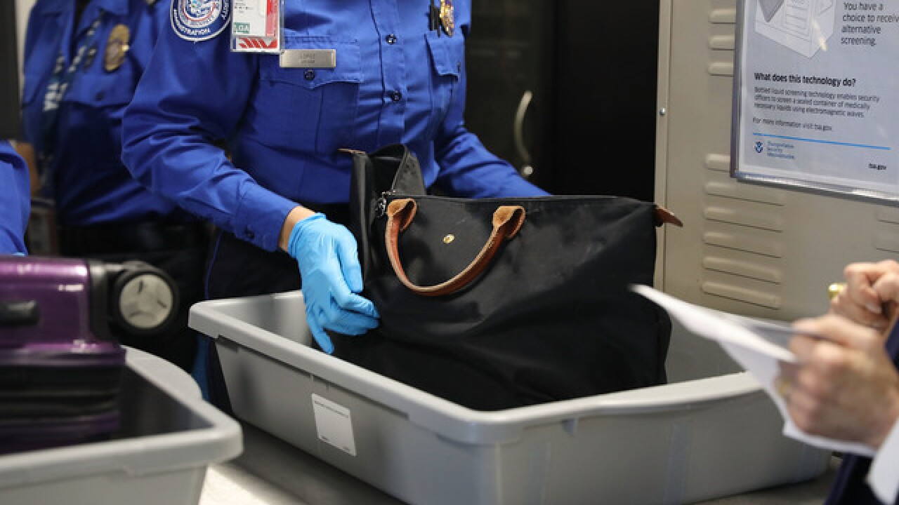 Study says airport security trays carry more germs than toilets