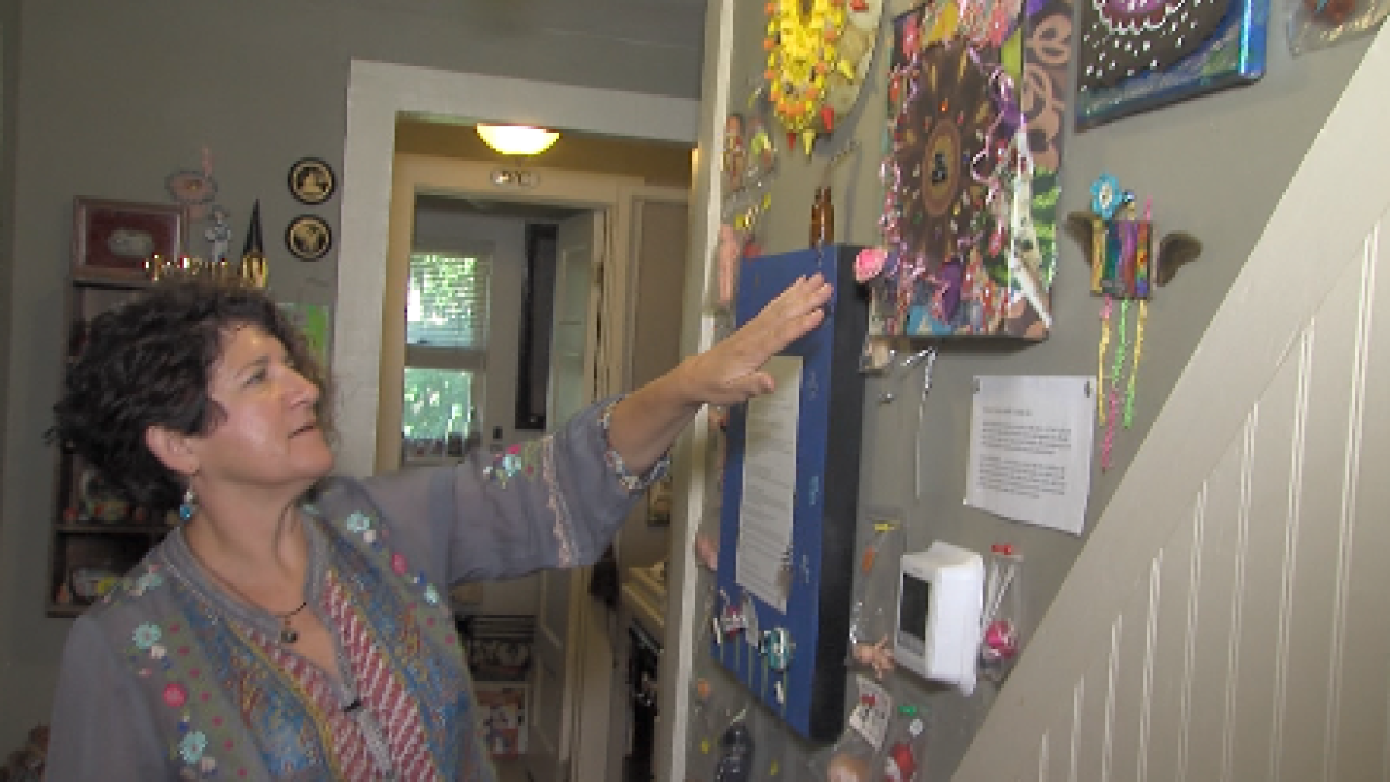 Oklahoma woman using art therapy to help people cope during pandemic