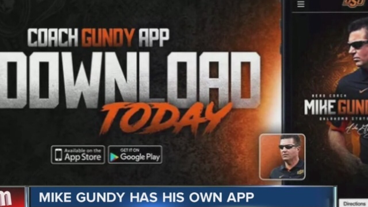 Mike Gundy has his own app