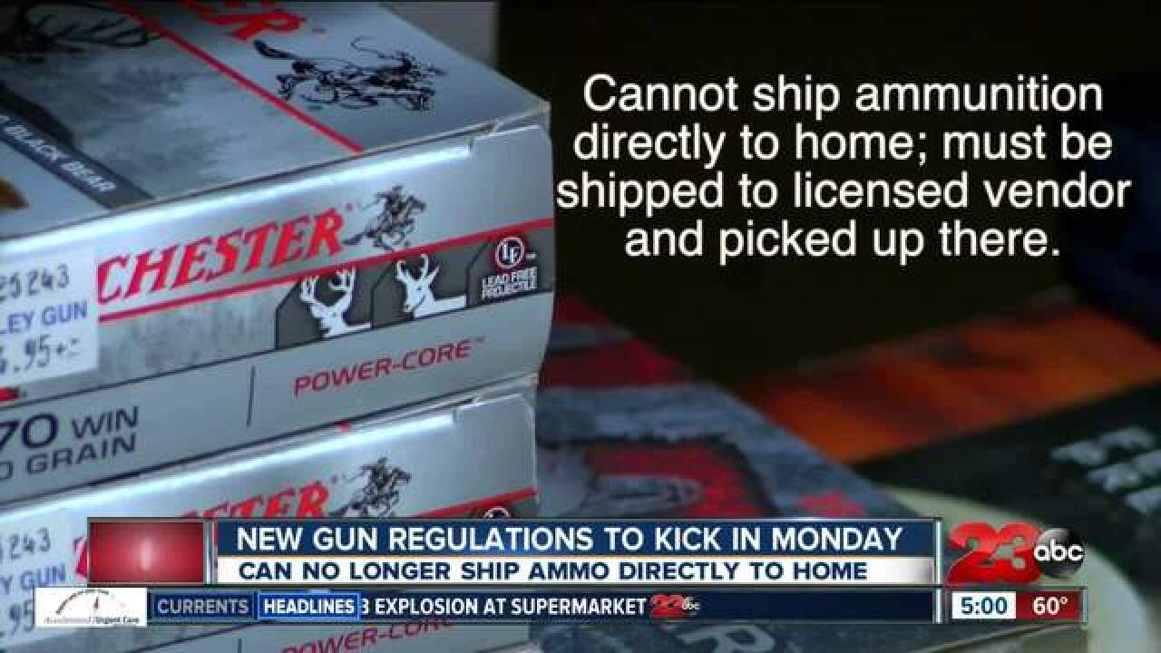 New gun laws to take effect January 1