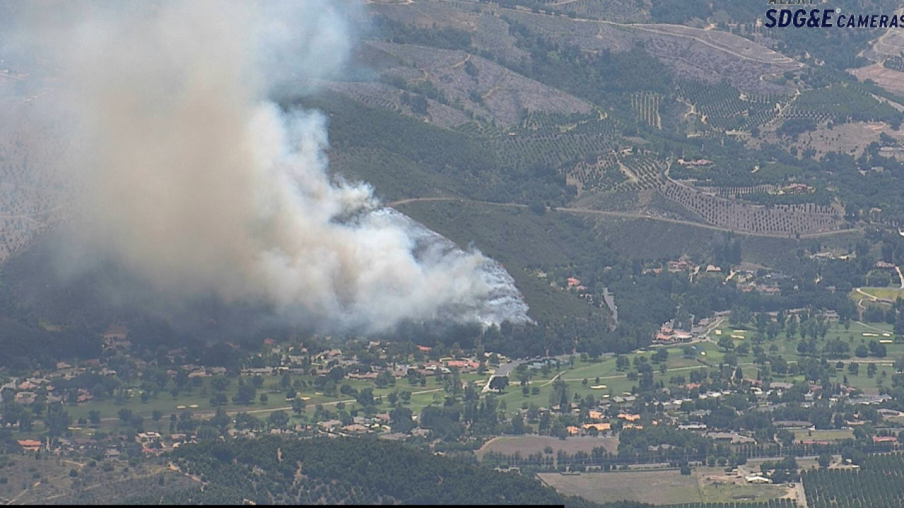 Pauma Valley Fire