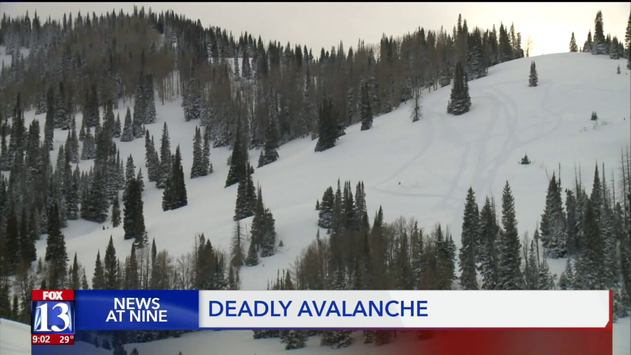 Officials release the name of the man killed in Utah's first deadly avalanche of the season