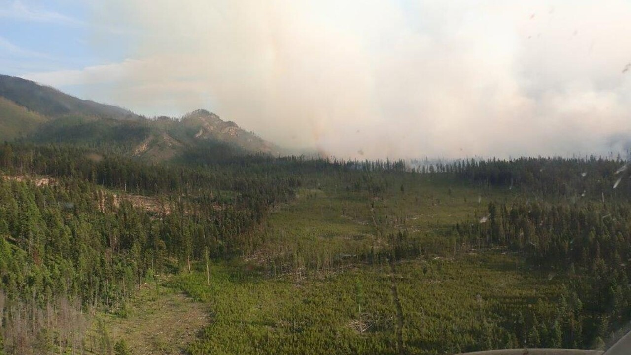 Snow Creek fire grows to 1,500 acres
