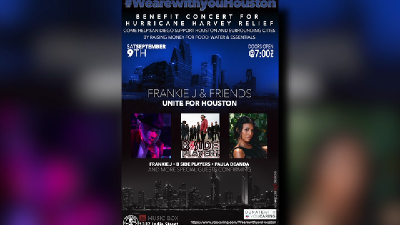 Benefit concert for Hurricane Harvey