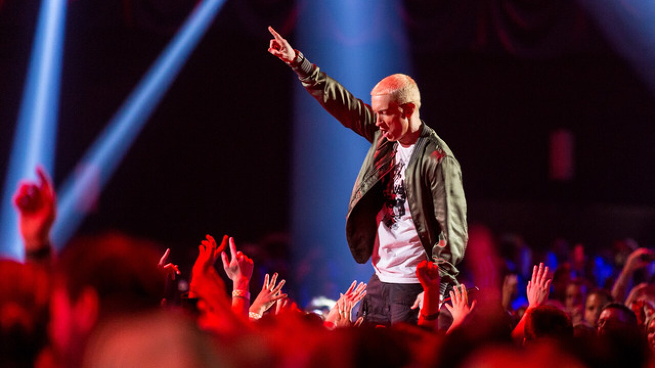 Eminem sold the most albums of any artist in 2018, report finds