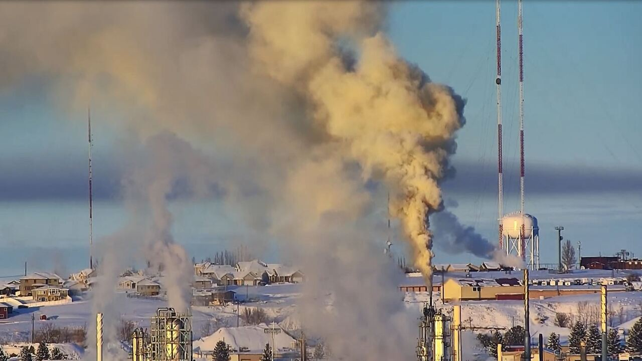 Great Falls Refinery Fire