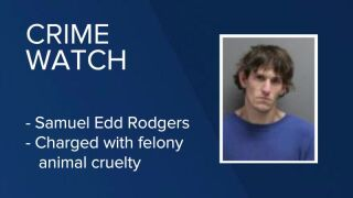 Samuel Edd Rodgers has been charged with one felony count of animal cruelty.