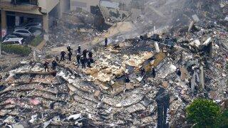 Building Collapse Miami Rescuers