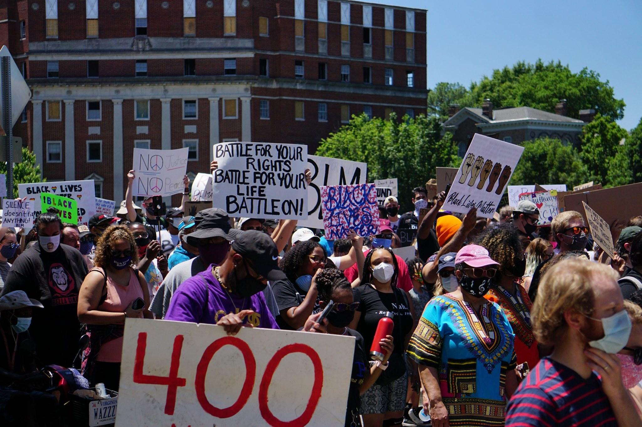 5,000 Man March in Richmond