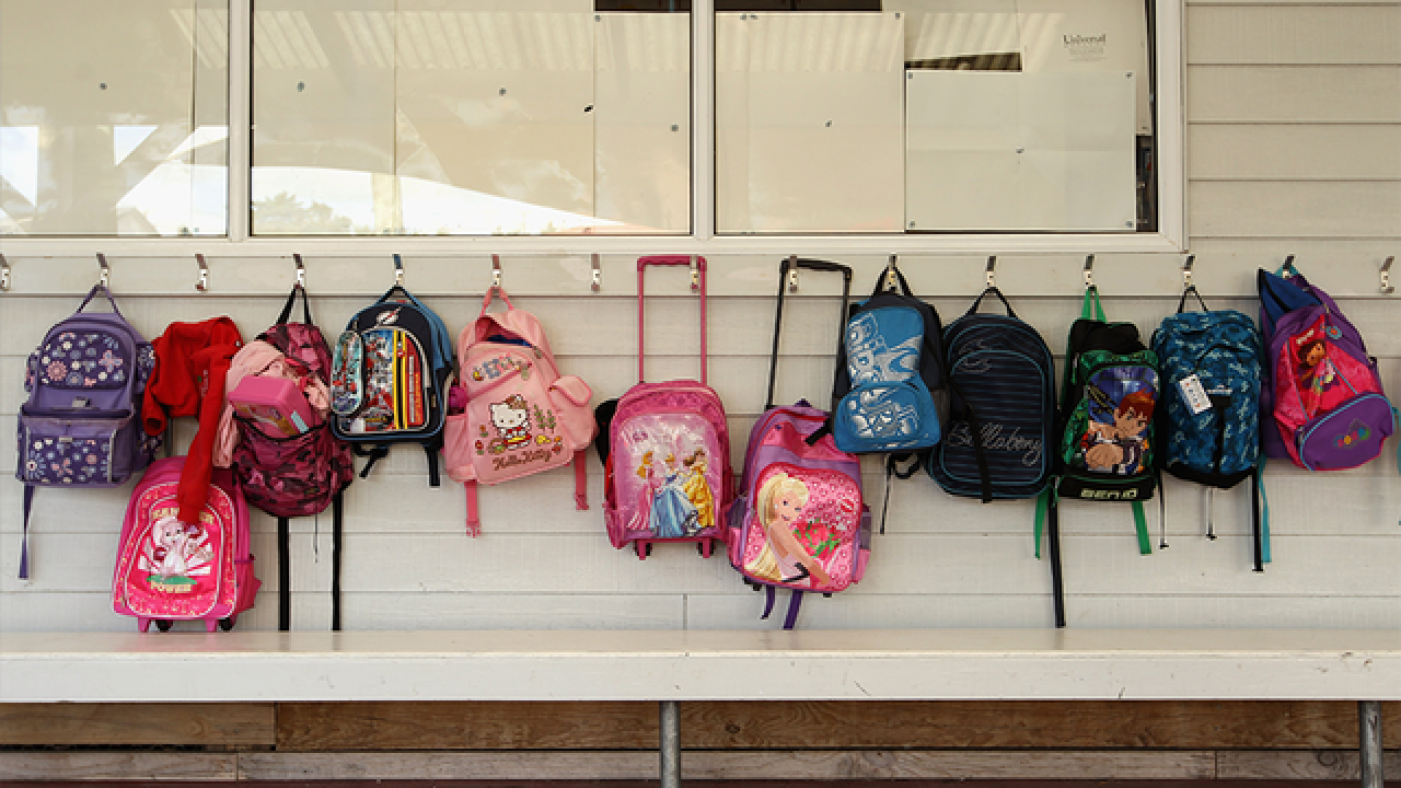 Backpacks banned in Manatee County on Friday