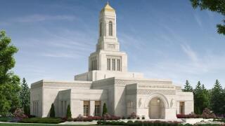 Helena LDS Temple rendering