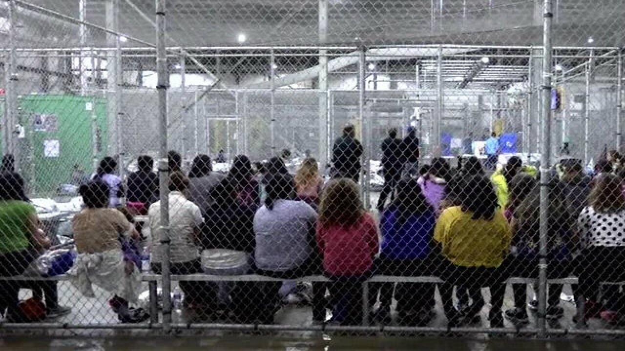 Video shows glimpse of life inside immigration detention facility in