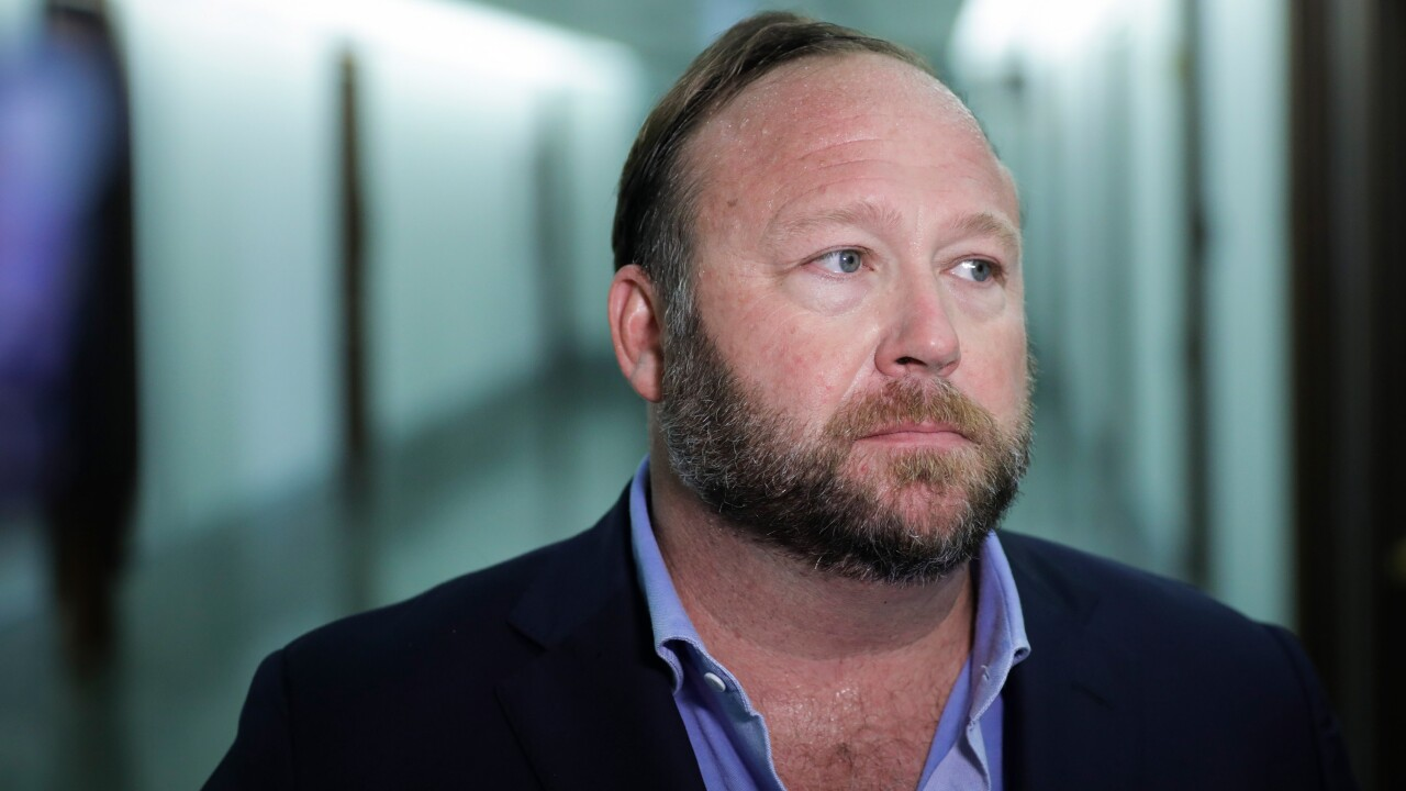 Alex Jones and Infowars ordered to pay $100,000 in fees for Sandy Hook case