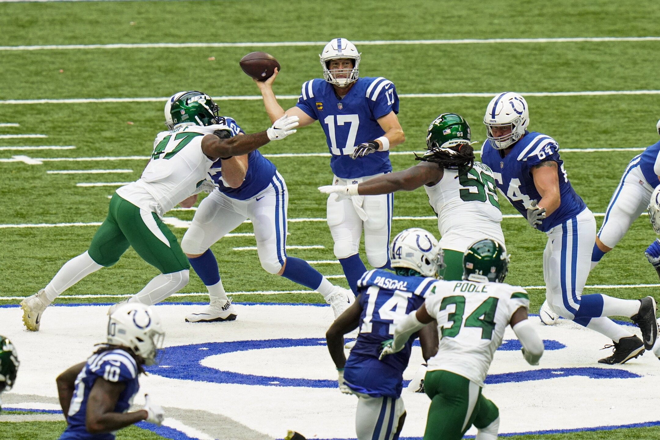 Jets Colts Football