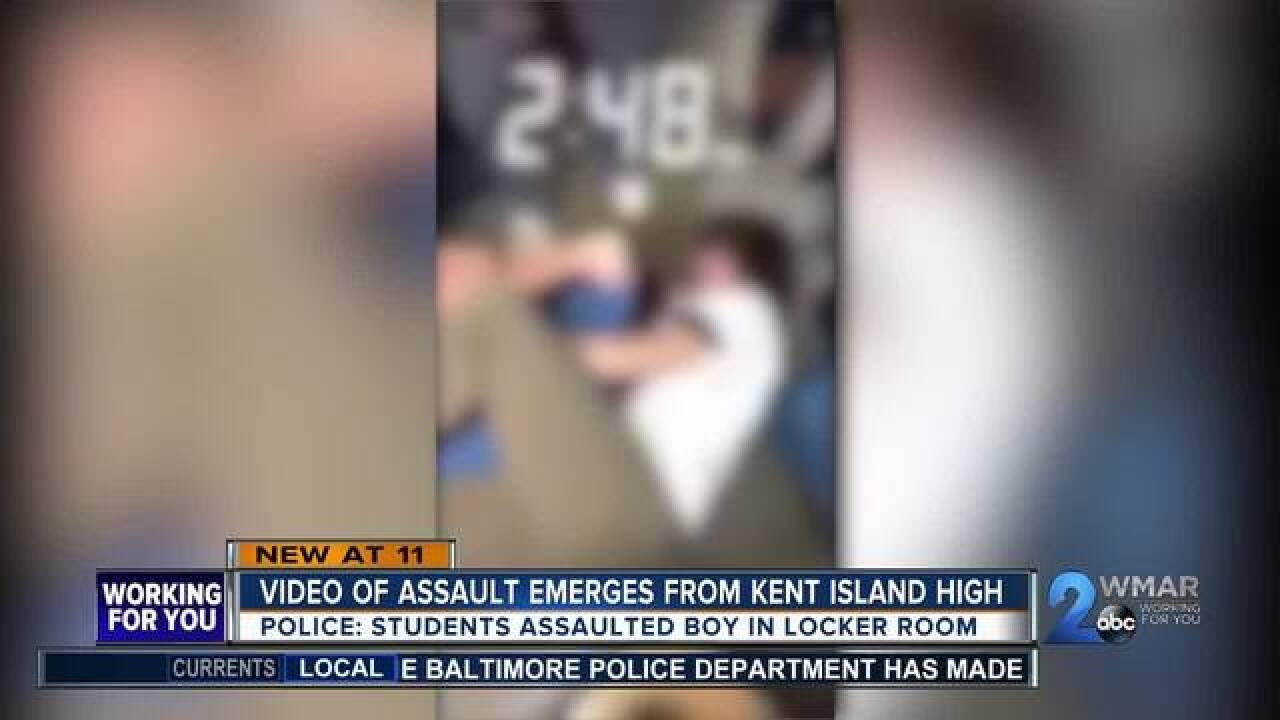 High School student assaulted in locker room