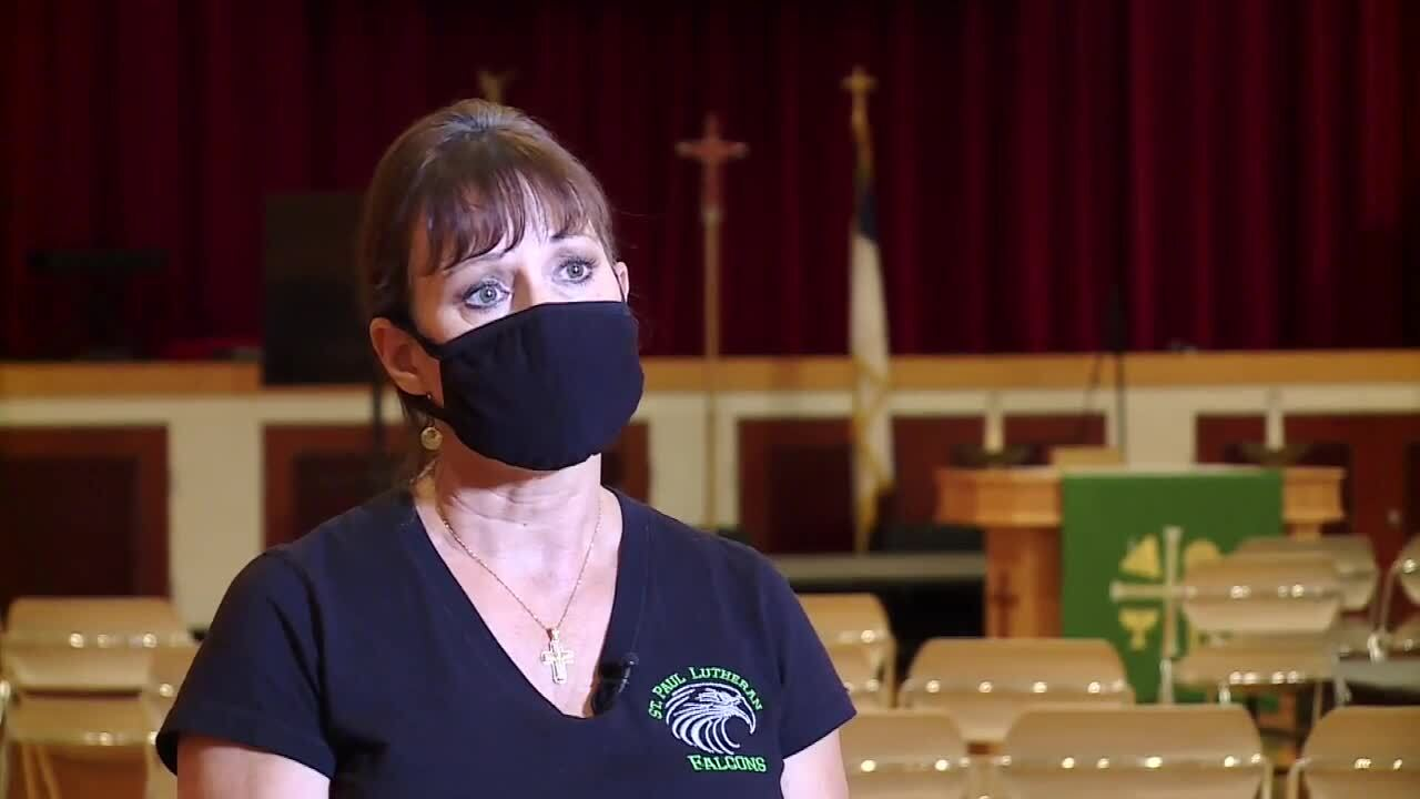 Marybeth Keenan at St. Paul Lutheran Church defends receiving PPP funds