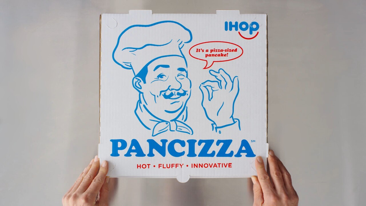 IHOP celebrates National Pizza Day with the 'Pancizza' — a pizza-sized pancake