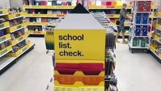 Virus Outbreak Back to School Shopping