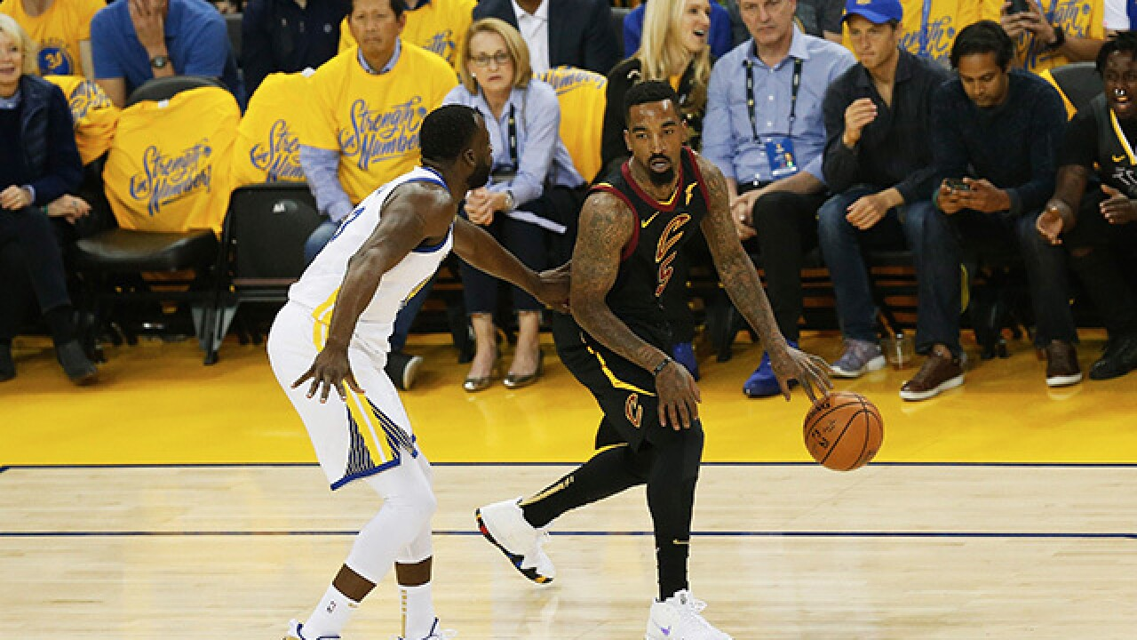 So did JR Smith know what he was doing or not at the end of Game 1  6ebd968b8