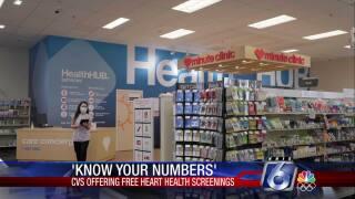 CVS will be offering free heart health screenings this week