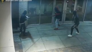 Police looking for suspects involved in Boys and Girls Club vandalism