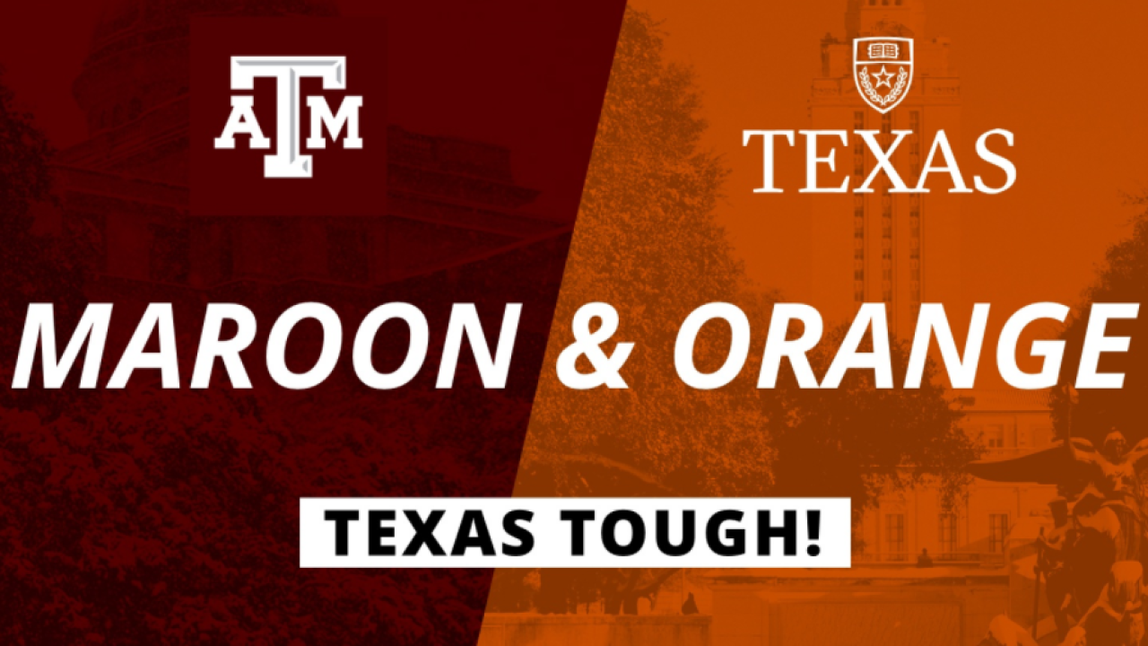 Texas A&M and UT-Austin Texas Tough Campaign