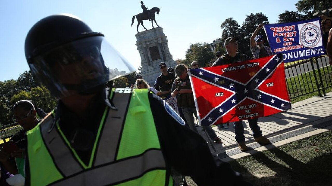 Confederate groups planning two upcoming rallies in Richmond