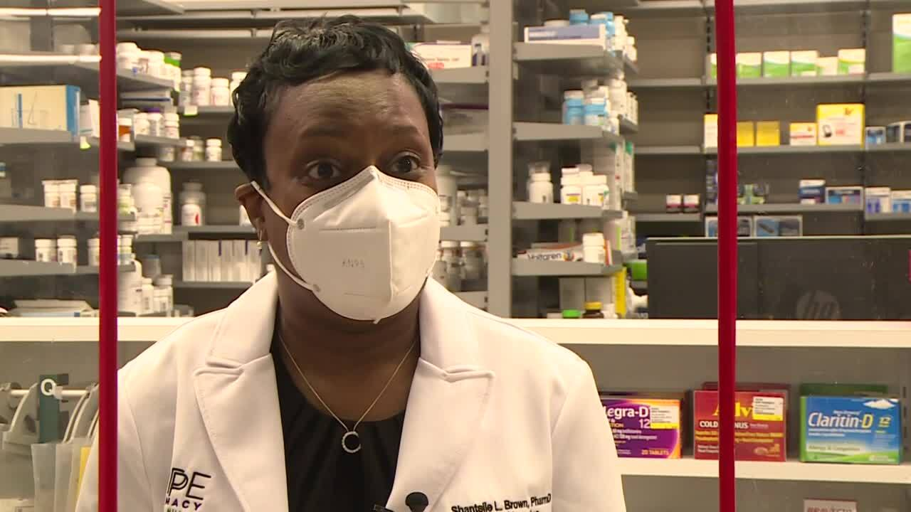 Dr. Shantelle Brown, who owns Hope Pharmacy