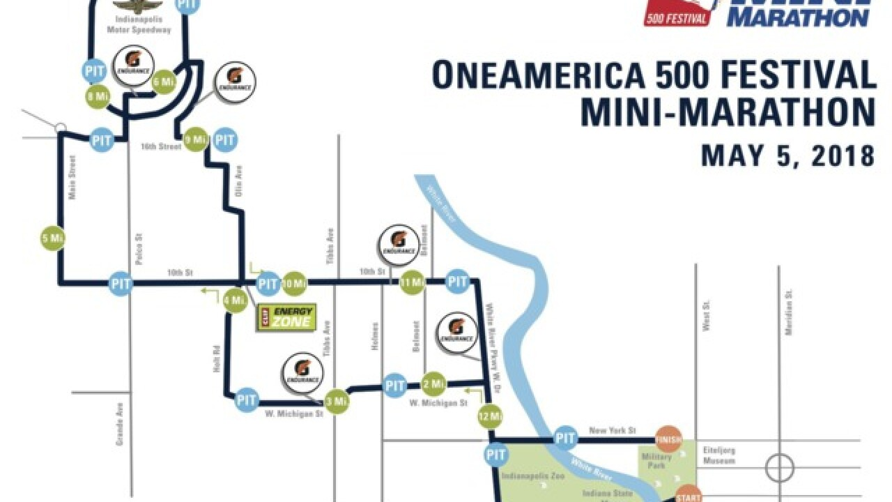 Mini Marathon traffic: What you need to know