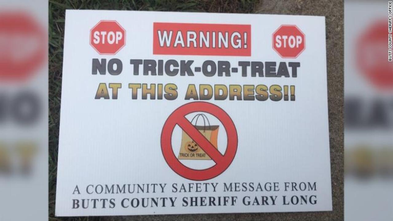 Judge rules Georgia sheriff can't put signs on sex offenders' homes warning trick-or-treaters