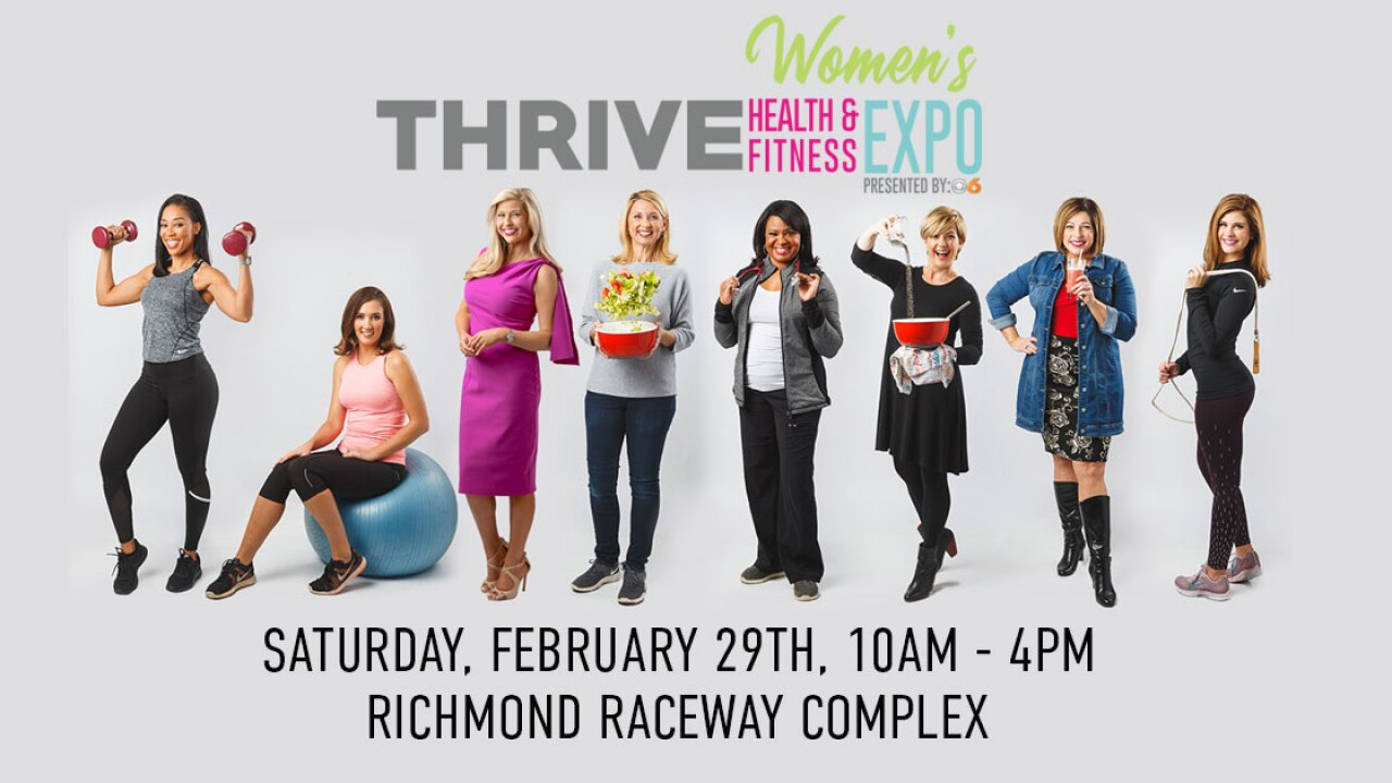 💪THRIVE Women's Health & Fitness Expo presented by CBS 6