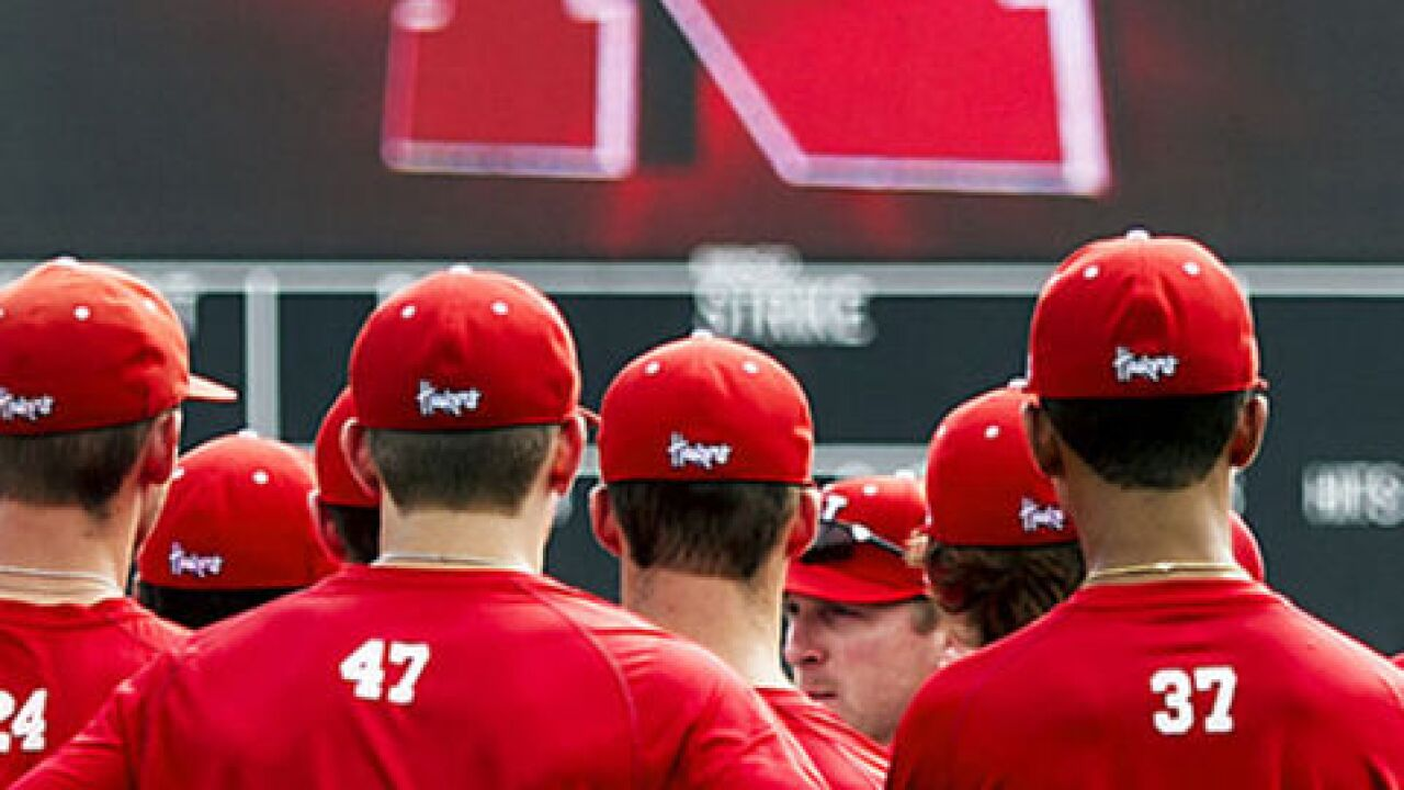 Huskers use big 7th inning to beat Nevada