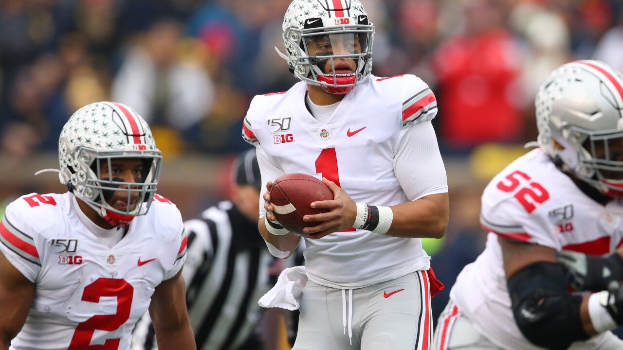 Justin Fields, J.K. Dobbins help Ohio State rout Michigan