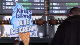 Sonder Brewing Blue Ice Cream Ale