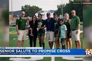 Senior Salute - Promise Cross