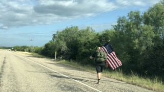 Duval Co. vet walks a mile for each of his fallen comrades