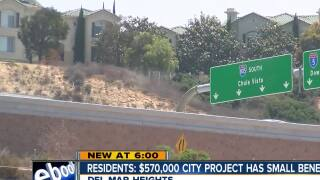 Del Mar residents say $570,000 city project will have minimal impact