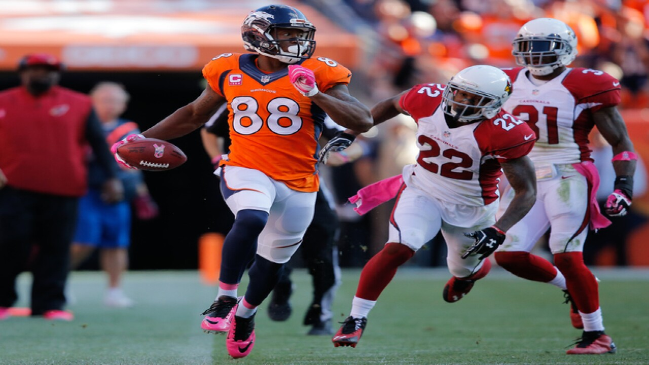 Images: Denver Broncos vs Arizona Cardinals