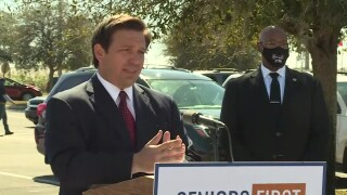 Florida Gov. Ron DeSantis gives a COVID-19 update in Pahokee on Feb. 3, 2021.jpg