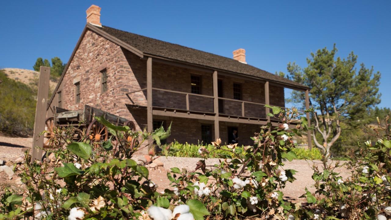 The Hamblin Home in Santa Clara, Utah.