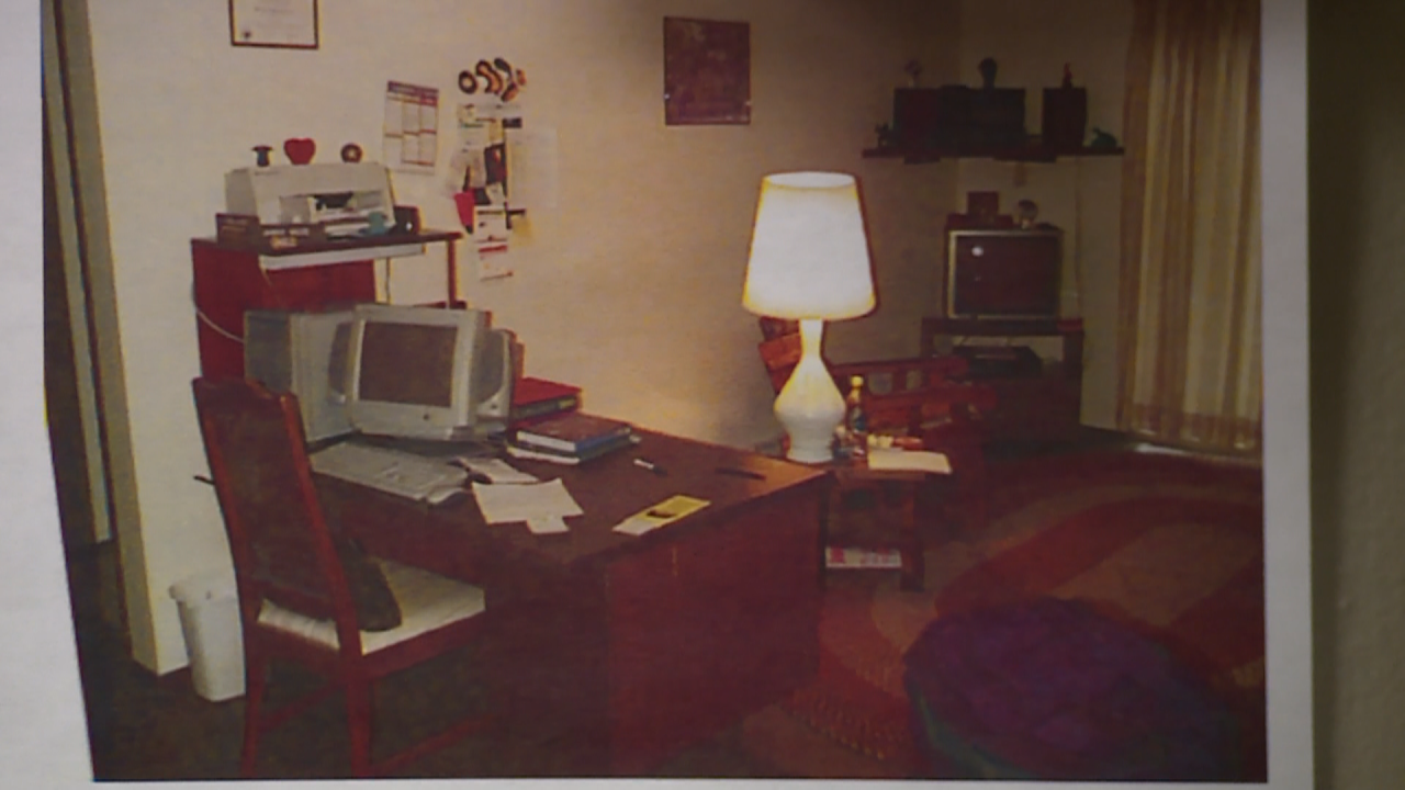 Evidence photo of Amber Wilde's  Green Bay apartment in September of 1998