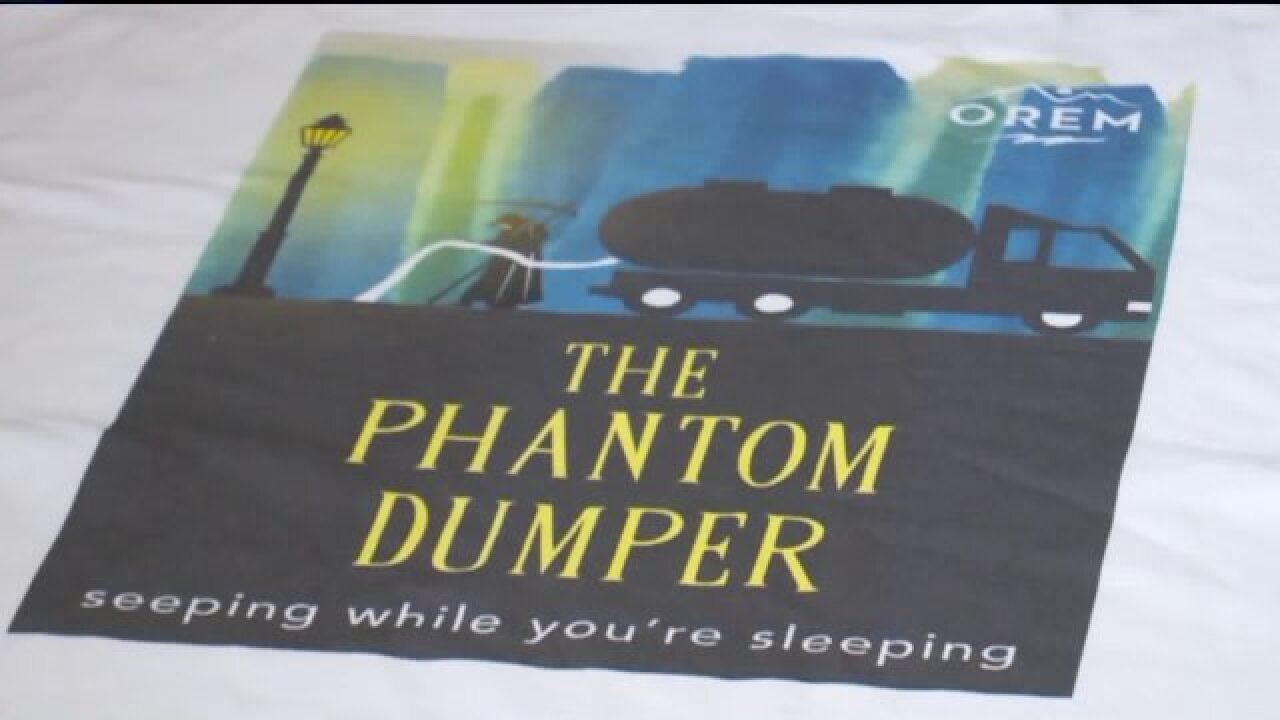 You could be a 'phantom dumper' and not knowit