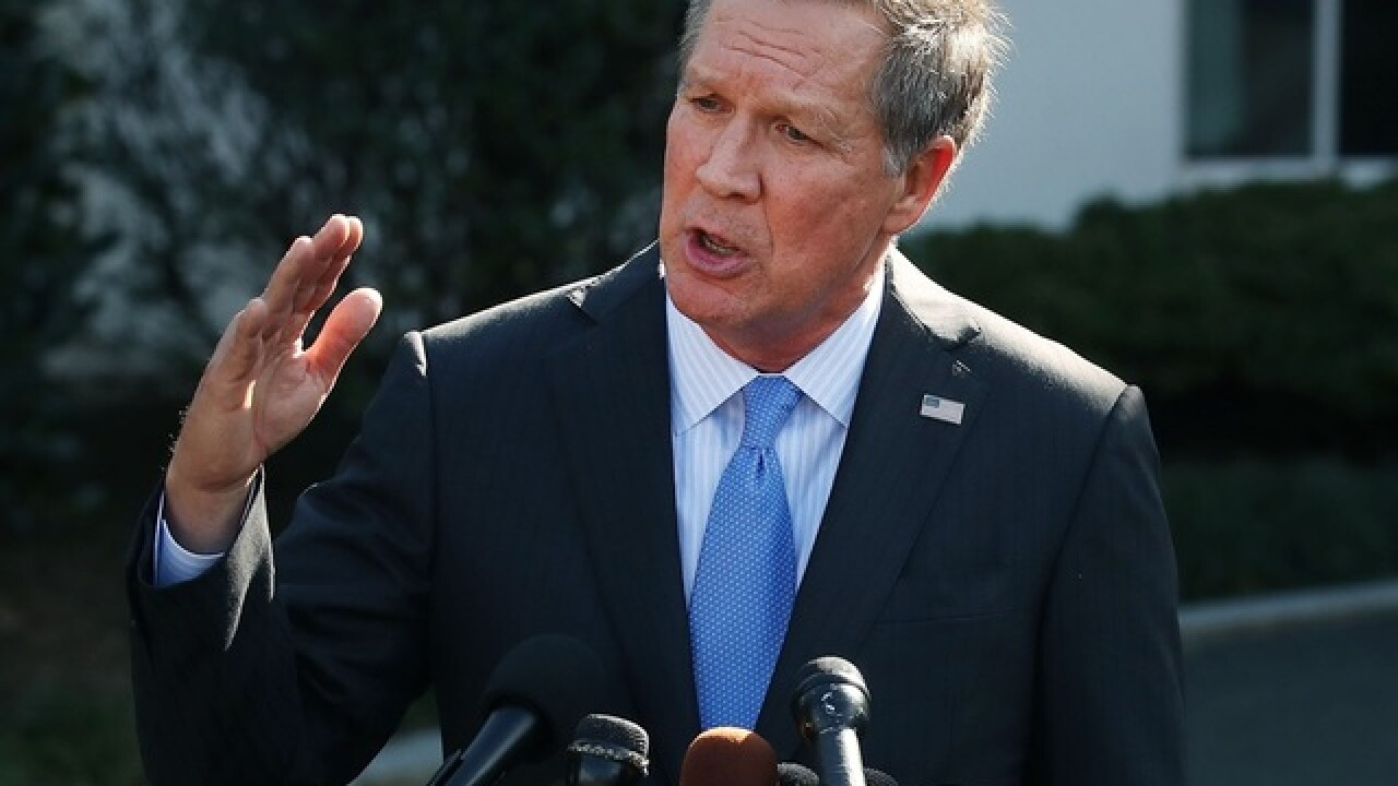 Kasich: Senate 'needs to hold' on Kavanaugh confirmation