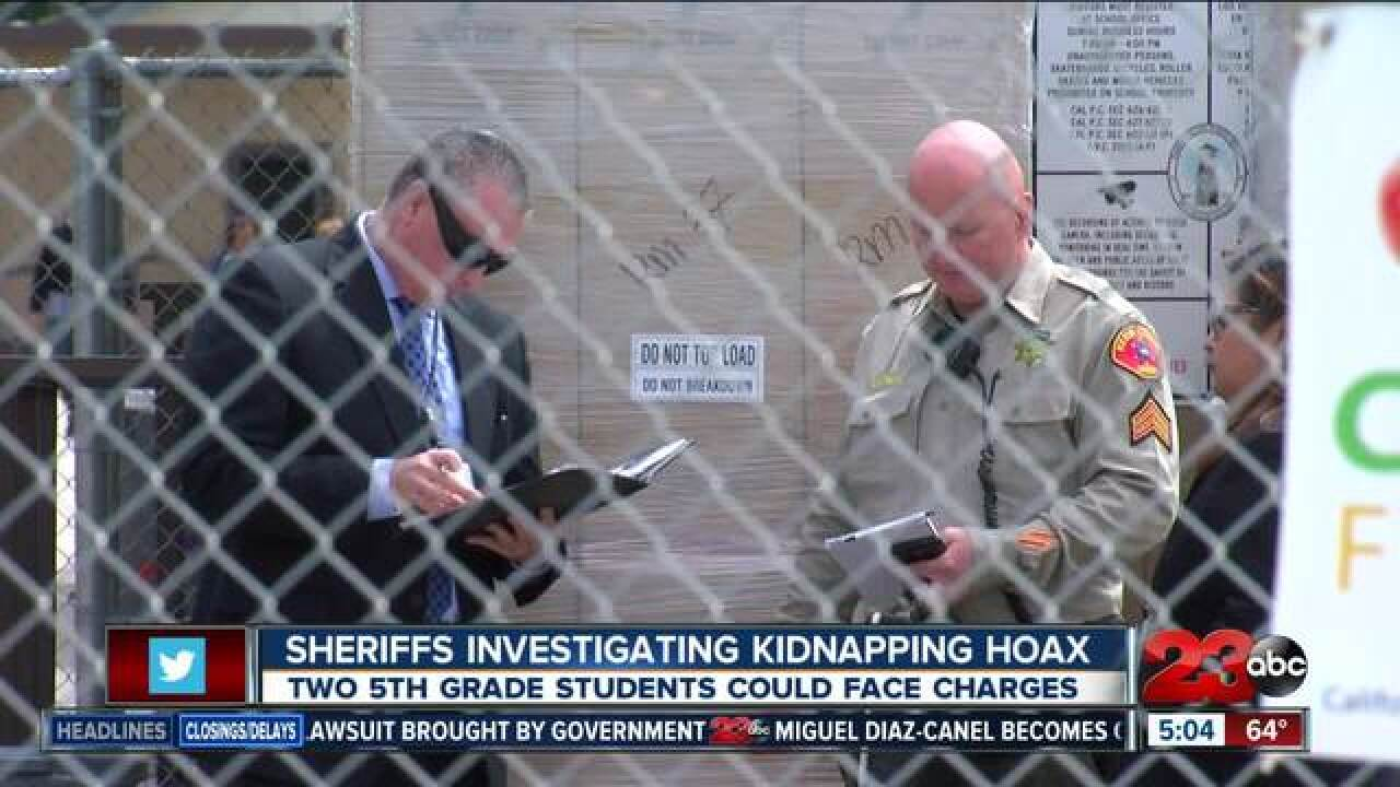 KCSO investigating possible kidnapping
