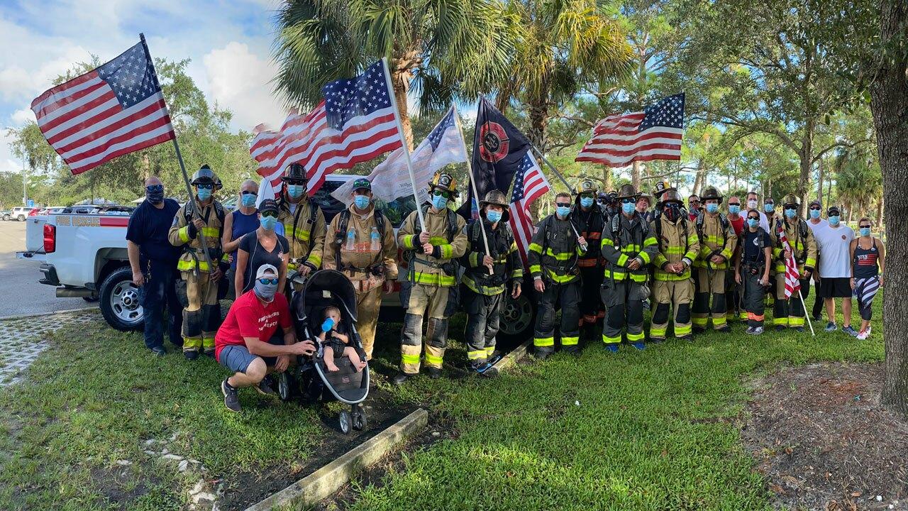 Martin County Fire Rescue 9/11 Bridge Walk